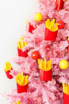 DIY French Fries Ornaments | studiodiy.com