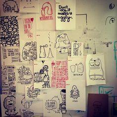 My work wall