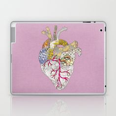 my heart is real Laptop & iPad Skin by Bianca Green - $25.00