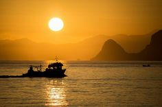 Alle prime luci dell'alba, quando la città si sveglia per iniziare una nuova giornata frenetica, le piccole imbarcazioni tornano nei loro covi