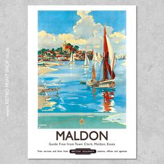 Poster On, Poster Prints, Vintage Travel Posters, Retro Posters, Art Deco Print, Railway Posters, Custom Posters, Retro Art