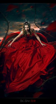 """""""Red Queen"""" by Irina Istratova, via 500px."""