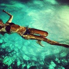 Midnight swim. (we, too, will look like this)