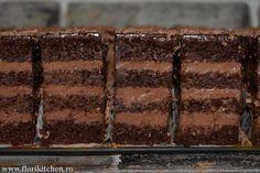 Prajituri – Flori's Kitchen Nutella, Gem, Food And Drink, Sweets, Cake, Ethnic Recipes, Kitchen, Desserts, Ideas