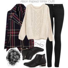 """Allison Inspired Winter Outfit"" by veterization on Polyvore"