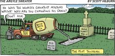 """Multiple meaning word for """"plot"""". Can your students explain the term """"as the plot thickens?"""""""