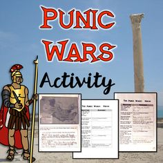 This is comprehensive and concise activity to teach the Punic Wars.  This activity bundle includes a video WITH a Cloze questioning worksheet, a reading activity that allows students to use text annotation as well as answering text dependent questions (Common Core aligned).