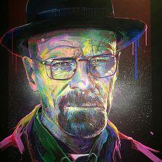 Heisenberg by Nicolas Vautrin in Strasbourg, France www.facebook.com/en4ki