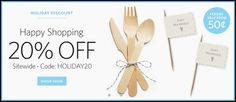 The Knot Shop: 20% off Sitewide = Great Deals on Personalized Wedding Favors, Gifts and More – Hip2Save