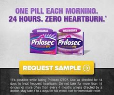 FREEBIE ALERT!!   SNAG YOUR FREE SAMPLE OF PRILOSEC!!   LIKE, COMMENT, SHARE!   CLICK HERE:http://couponshopaholic.net/?p=15135