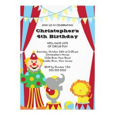 1912 Best Kids Birthday Party Invitations Images Kids Birthday