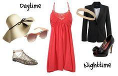 Inspiration look Day to night : This is a good outfit for a weekend away