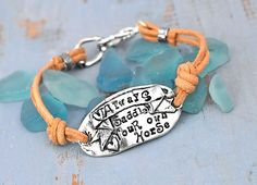 Always Saddle Bracelet. Need. Love. Want. @Island Cowgirl, you create the words of my soul.