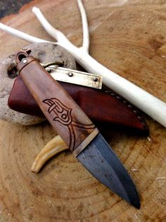 "Seax Knife by Petr Florianek (forums.dfoggknives.com ""Knives for Sale"")"