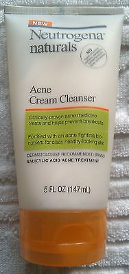 Brand New Neutrogena Naturals Acne Cream Cleanser 5 FL OZ (177 mL) - http://health-beauty.goshoppins.com/skin-care/brand-new-neutrogena-naturals-acne-cream-cleanser-5-fl-oz-177-ml/