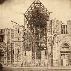 April 29, 2016, will mark 150 years since the  Diocese of Boston broke ground on the current Cathedral of the Holy Cross located in Boston's South End.  The original Cathedral of the Holy Cross was lo
