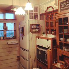 セリア/enfant/モモナチュラル/salut!/DIY/Kitchen…などのインテリア実例 - 2014-11-03 21:38:07 | RoomClip(ルームクリップ)