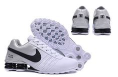 online store 21020 059da New Style Nike Shox Deliver White Silver Black Shox Nz Men s Athletic  Running Shoes