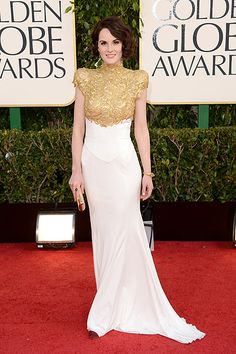 Michelle Dockery in Alexandre Vauthier Haute Couture