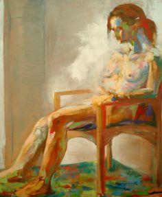 「裸婦」課題 キャンバスに油彩 | パステル画制作日記 - 楽天ブログ