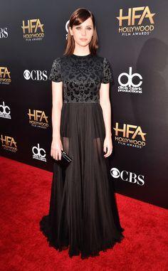 #PrettyThings - Dress Envy! Dress worn by Felicity Jones at the  2014 Hollywood Film Awards via E! Online