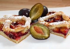 Szilvás pite | Alajuli receptje - Cookpad receptek Hungarian Recipes, Hungarian Food, French Toast, Cheesecake, Food And Drink, Yummy Food, Sweets, Baking, Breakfast