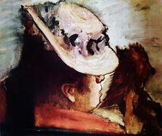 Edgar Degas - A woman with dog - Edgar Degas