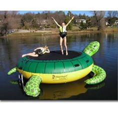 Island Hopper Turtle Hop Water Bouncer - 13 ft