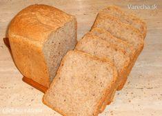 Chlieb z pekárničky bez váženia (fotorecept) Bread, Food, Basket, Brot, Essen, Baking, Meals, Breads, Buns