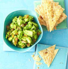 Guacamole mit Tortillachips Rezept - [ESSEN UND TRINKEN]