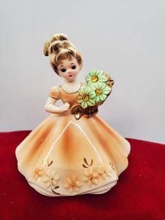 Birthday Angel, Girl Birthday, Art Nouveau, Topaz Birthstone, Vintage Pins, Vintage Style, Vintage Ladies, Birth Month Flowers, November Birthday