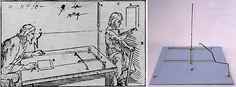 Ludovico Cardi Cigoli (Castelvecchio di Cigoli 1559 - Roma 1613) Strumento prospettico Ricostruzione (da Prospettiva pratica, 1610-1613); ottone Firenze, Istituto e Museo di Storia della Scienza