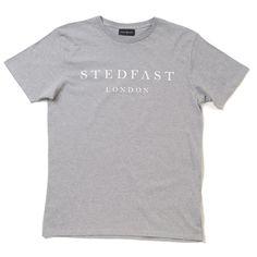 Stedfast London grey tshirt mens