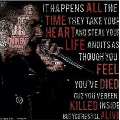 Eminem - Beautiful Pain  which means you will survive.