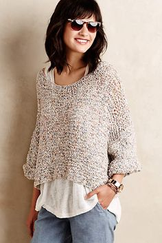 Cropped Confetti Top - anthropologie.com #anthrofave