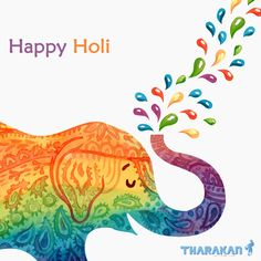 """May the colors of Holi make your life as colorful and happy as they are."" ― Wish you a very Happy Holi!!! Holi Greeting Cards, Holi Greetings, Greeting Card Template, Holi Painting, Mandalas Painting, Mandalas Drawing, Holi Festival India, Holi Festival Of Colours, Geometric Patterns"