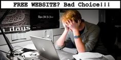 Hundreds have fallen prey to the bait of #freewebsites throughout the years and lived to lament their choices. I don't need you to fall into the same trap so I've put together 7 reasons why you shouldn't have a free website that you might not have contemplated:http://goo.gl/EpRfTo