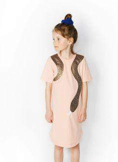 Bangbang Copenhagen Girls Phyton Dress