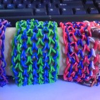 "Rainbow Loom ""Dragon Scale"" Bracelets"