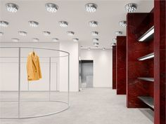 Acne Studios opens a new store in Hangzhou. Balenciaga Store, Fashion Showroom, Stockholm Street Style, Paris Street, City Select, Studio Interior, Hangzhou, Luxury Shop, New Shop