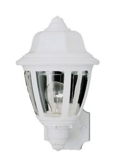 Plastic Outdoor 1 Light Wall Lantern
