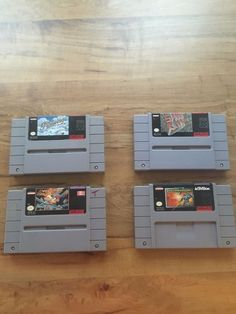 SNES Nintendo Game Lot Mechwarrior Pilotwings SimCity Wing Commander in Video Games & Consoles, Wholesale Lots, Games | eBay