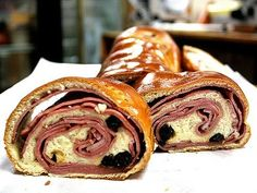 """""""Christmas for Venezuelans is all about eating, and the big family meal is a real blowout, eaten late. Pan de jamón, a soft rolled bread stuffed with ham and raisins, is an essential part of any Christmas meal."""" Venezuela: The Bradt Guide www.bradtguides.com"""