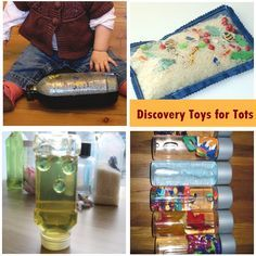 19 Engaging Activities for 1 Year Olds  I love the discovery pillow idea and it looks awesome!! I think I want to make this like tonight lol.