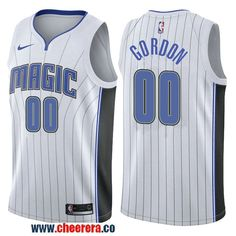 Men s Nike NBA Orlando Magic  00 Aaron Gordon Jersey 2017-18 New Season  White 55109475e