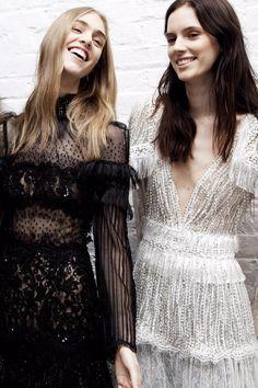 FOR THE BRIDESMAIDS || Lace & embellishment inspired by Rodarte || NOVELA…