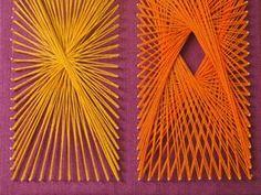 String art is so modern and graphic, yet it also has wonderfully nostalgic references to Spirograph and Jacob's Ladder.        Filed under: Weaving, Crafts, Art