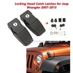 BACAI JK Jeep Wrangler Hood Lock Assembly Kit