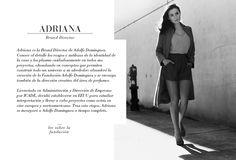 Las 3 hermanas, Tiziana, Adriana y Valeria Dominguez. ADOLFO DOMINGUEZ