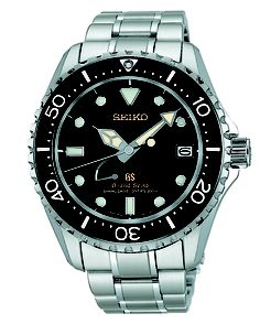 Grand Seiko, Spring Drive GMT Watch, with 30 jewels and high intensity titanium, SBGA031  www.SeikoUSA.com